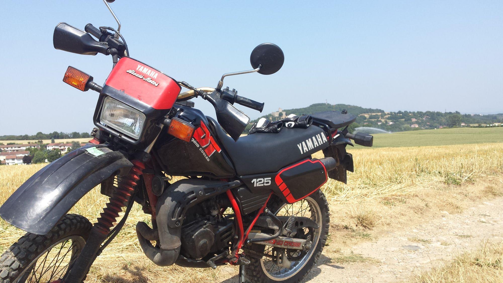 Yamaha 125 DT de mon père